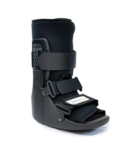 CAM Walker PDAC Approved L4386 and L4387 Fracture Boot Short -Full Medical Recovery, Protection and Healing Boot - Toe, Foot or Ankle Injuries, Sprains, Bunions, and Post Op Support by Brace Align