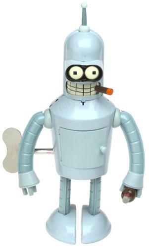 Futurama Bender Wind-up Robot Action Toy