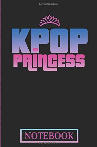 KPOP Princess Notebook: Note Book for KPOP Fans