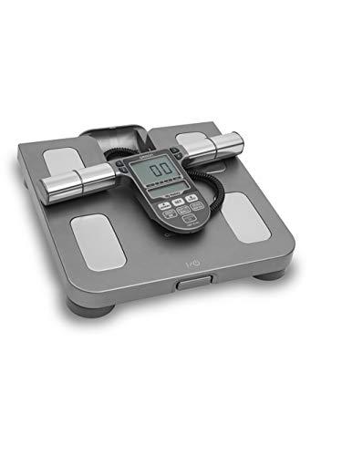 """""""Balança Digital Omron HBF514C - Medição Precisa e Completa de Peso, Corporal e Fitness, 7 Indicadores Corporais, Memória P/ 4 Perfis,Garantia de 1 Ano"""""""