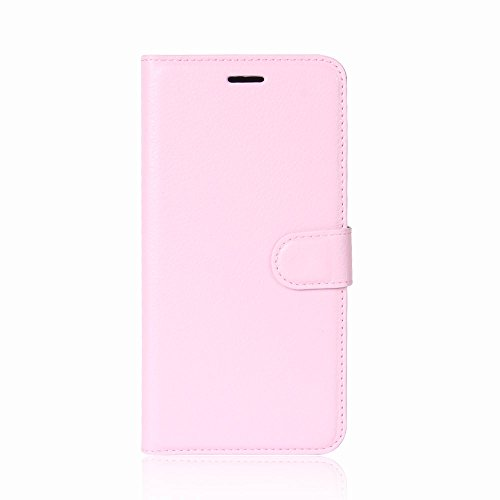 ROCKWEY Für Oukitel K5 Hülle, Mobile Phone Flip Wallet Leather Hülle Flip Hülle für Oukitel K5-rosa