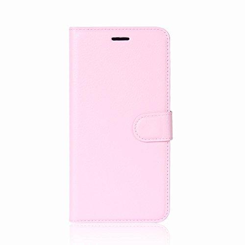XMTN Huawei Honor 6C Pro,Huawei Honor V9 Play 5.2' Custodia,Premio PU Custodia in Pelle con Wallet Case Cover per Huawei Honor 6C Pro,Huawei Honor V9 Play Smartphone (Rosa)