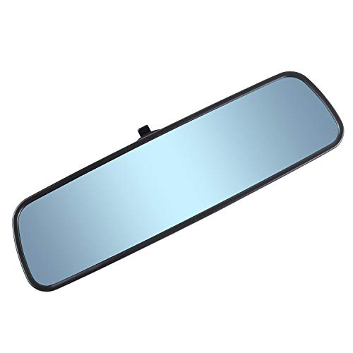 Espejo retrovisor con diseño de caballo de corazón, color azul, espejo universal para coche, camión, espejo retrovisor interior, espejo retrovisor con ventosa, antirreflejo