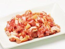 おいしい皮付き鶏ももこま肉(leg) 10kg 【淡路どり】【もも肉】 唐揚げ用 冷蔵品