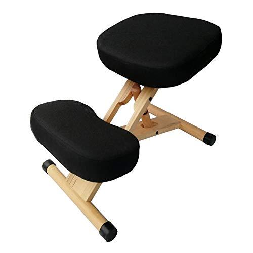 GY-Kneeling Chairs Korrektive Körperhaltung Kinder Studenten Sitzen Haltungskorrektur Höhenverstellbarer Klappstuhl, Nackenschmerzen Und Wirbelsäulenspannungsentlastung (Color : B)