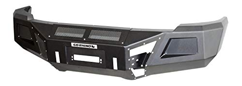 Go Rhino 24219T Textured Black Powder Coat Finish Front Replacement Bumper (BR10)