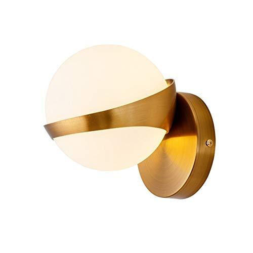 CNCDRS Pared del Accesorio de iluminación nórdica Dormitorio lámpara de cabecera Lujo Simple lámpara de Pared del Pasillo Pasillo Escaleras Modern Pared Linterna Espejo de baño Iluminación Faros