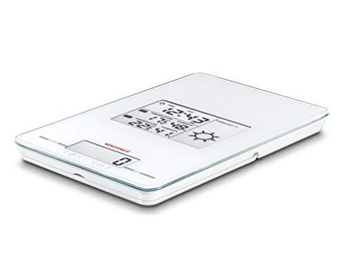Soehnle 6147-bascula de Cocina Multifuncional, Capacidad de Carga 5 kg, Blanco