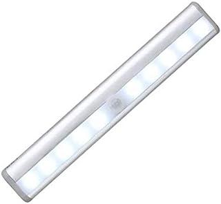 مصباح ليلي، مخصص للخزائن ويتميز بحساس بالاشعة التحت حمراء لكشف الحركة ومزود بـ 10 اضواء ال اي دي