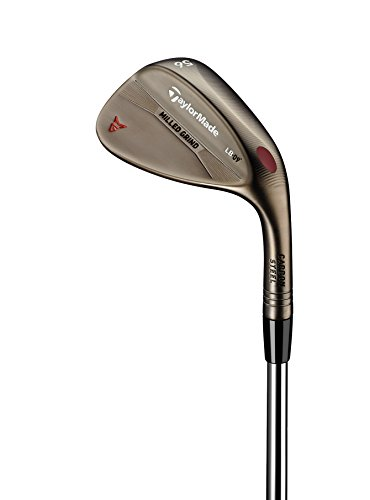TaylorMade Golf Milled Grind Bronze Finish High Bounce 58 Degree Loft 12 Degree Bounce Wedge, Right Hand