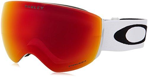 Oakley Herren Flight Deck 705035 0 Sportbrille, Weiß (Matte White/Prizmtorchiridium), L