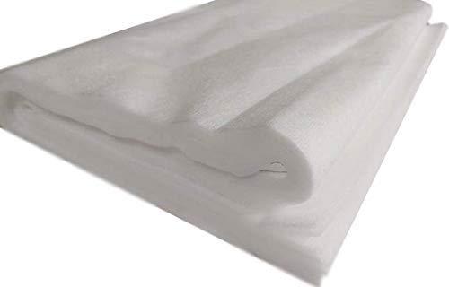Tela de fieltro por metros – Tejido para coser – Tejido para coser 5 m 160 cm de ancho de fieltro como inserto de costura, tela filtrante