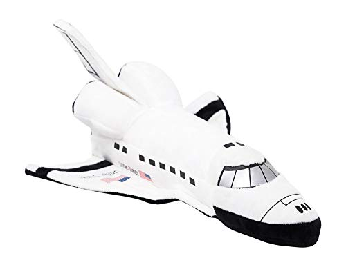 """14"""" NASA Plush Space Shuttle Toy – Adorable Stuffed Space Rocket Toy Pillow – Perfect for Kids to Cuddle Or Use As Nursery Room Décor – Great Addition to Solar System & Outer Space Themed Rooms"""