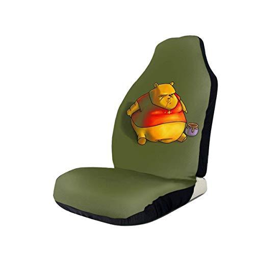 YAGEAD Winnie The Pooh Coprisedili per auto Tappetino interno Cuscino Pad Super Soft Seggiolini per veicoli Decorazione Copertura protettiva Borsa per furgone Adatto alla maggior parte delle auto-X8