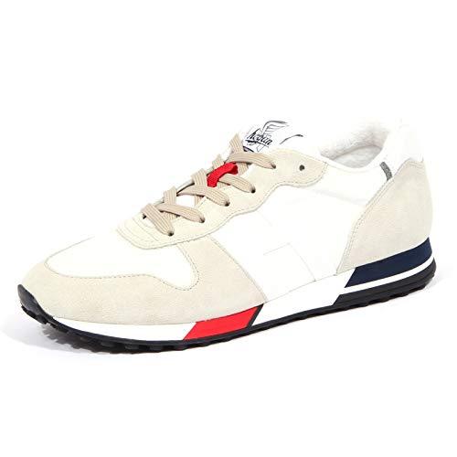 Hogan 4275J Sneaker Uomo Off White/Grey H383 Scarpe H86RUN Shoe Man [8.5]