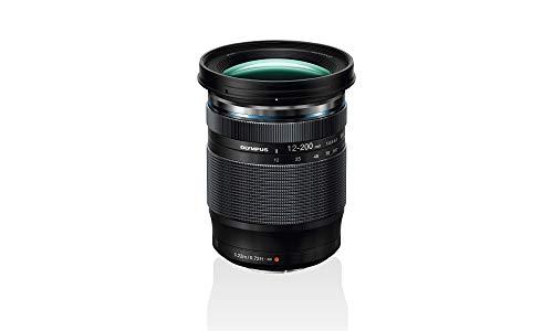 Olympus M.Zuiko Digital ED 12-200mm F3.5-6.3 Objektiv, Universalzoom, geeignet für alle MFT-Kameras (Olympus OM-D & PEN Modelle, Panasonic G-Serie), schwarz