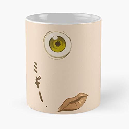 5TheWay Anime Shinichi Migi Naruto Manga Ball Parasyte Dragon Eye - Best 11 oz Kaffeebecher - Nespresso Tassen Kaffee Motive