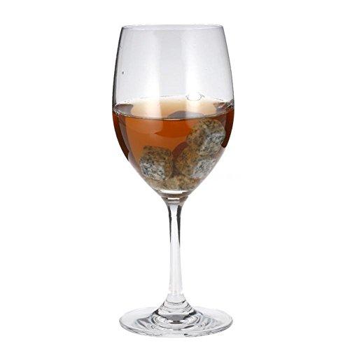 Eiswürfel Wiederverwendbare Whisky Steine 9 Stück Aus Natürlichen Speckstein Wiederverwendbare Eiswürfel Whiskysteine Whisky Stones Kühlsteine. - 5