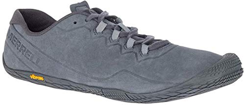 Merrell Herren Vapor Glove 3 Luna Leather Freizeit-Und Wanderschuhe, Granite (Gris), 44 EU