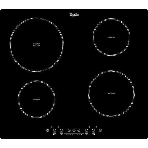 Whirlpool ACM 838/NE Incasso A induzione Nero piano cottura, 58 x 51 x 5.6 cm