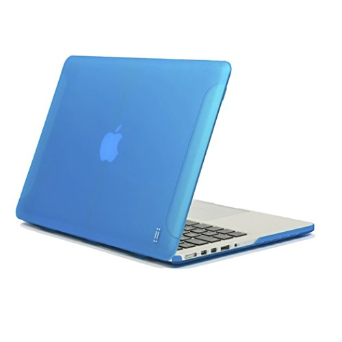 aiino - Custodia Matte compatibile per MacBook Pro Retina 15, Modello A1398 - Blu