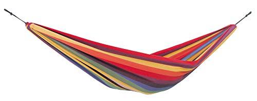 AMAZONAS Bunte Kinder Hängematte Chico Rainbow 2-8 Jahre bis 80...