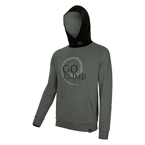 Trango Infiny Sweatshirt Mixte Adulte, Vert/Marron, XL