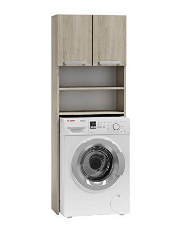 mobiletto bagno porta asciugamani ADGO Pola - Armadio per lavatrici