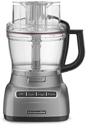 high quality KitchenAid KFP1344 13-cup new arrival Architect Series high quality Food Processor Metallic Chrome (13 cup) (RENEWED) online sale