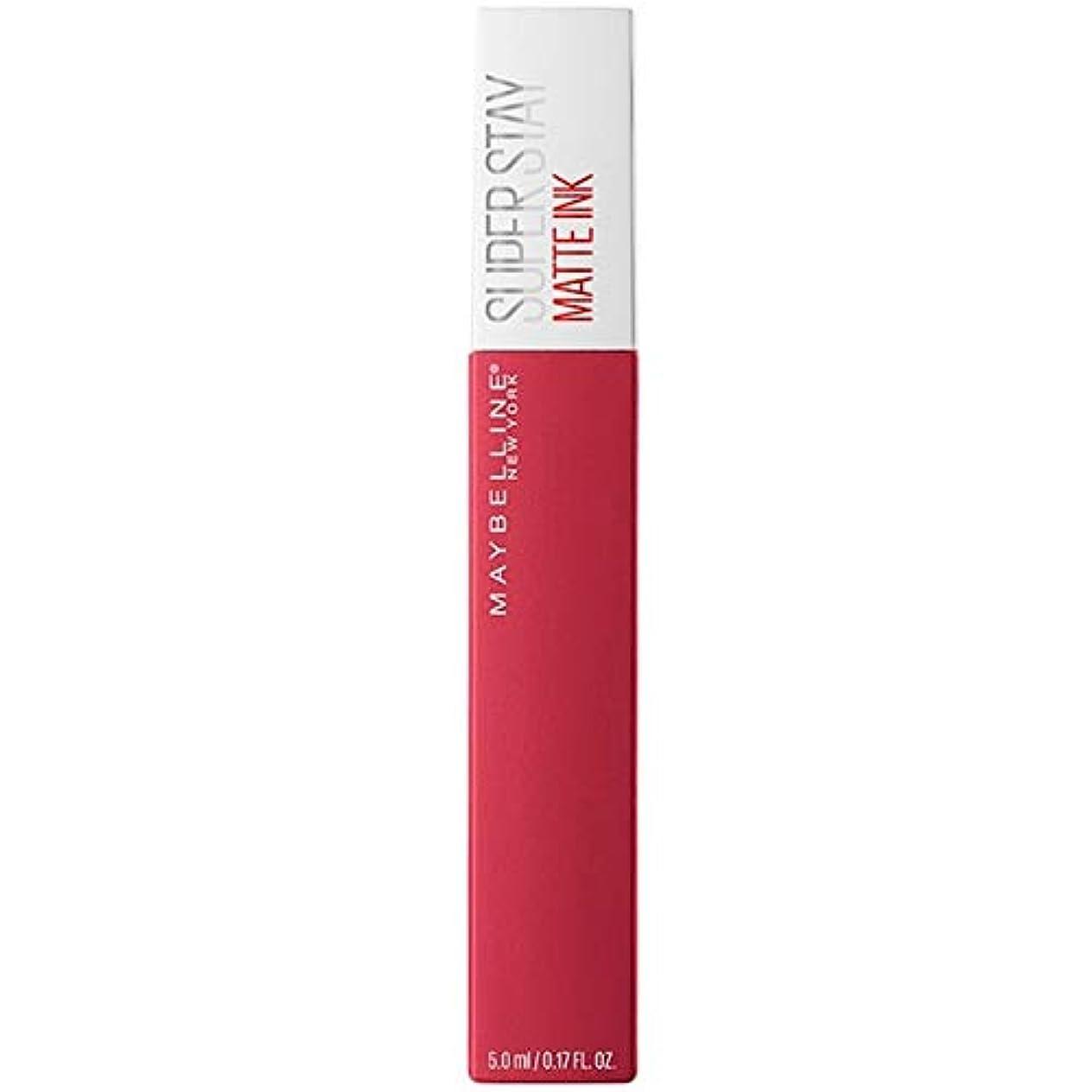 払い戻しバイナリ自分のために[Maybelline ] メイベリンSuperstayマットインク液口紅80定規5ミリリットル - Maybelline Superstay Matte Ink Liquid Lipstick 80 Ruler 5ml [並行輸入品]
