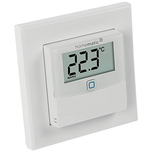 Homematic IP ELV ARR-Bausatz Temperatur/Luftfeuchtesensor mit Display HmIP-STHD