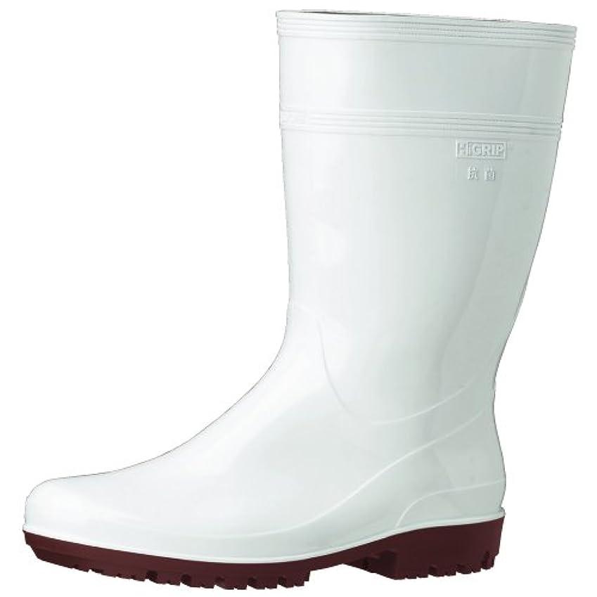 没頭するつらいクレジットミドリ安全 ハイグリップ長靴 22.5cm ホワイト HG2000N