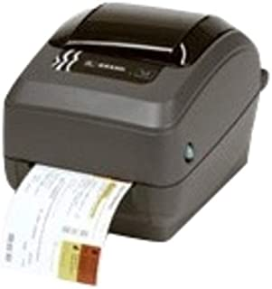 "Zebra GX430t Barcode Label Printer thermal transfer printing, 305 dpi, 4"" print width, Serial, USB, Parallel interfaces. I..."