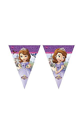 2,3m Disney Sofia die Erste Wimpelkette Banner