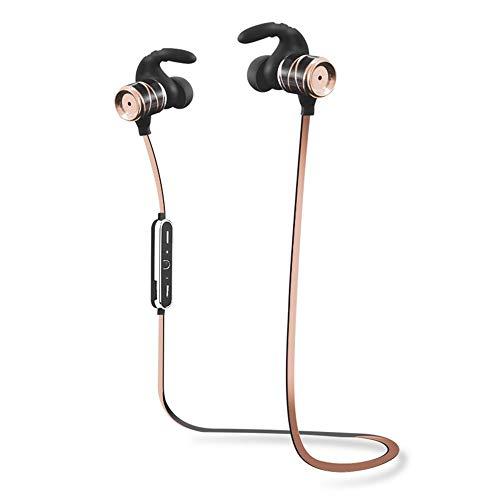 XXxx SunlMG Sport-hoofdtelefoon, Bluetooth, stereo, geen plug-in-in-in-over-ear hoofdtelefoon, metalen hoofdtelefoon, anti-druppel/batterijweergave/oproepfunctie/muziek-ondersteuning