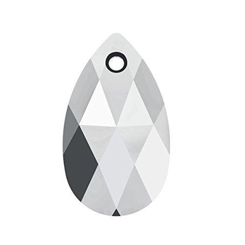 Swarovski Kristall 6106Mandel Anhänger Swarovski mm 22,0Kristall-Leuchte chrom 6Stück, echte