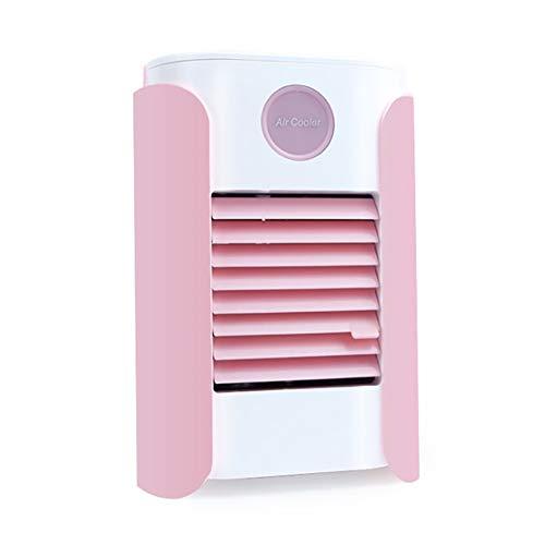 Personal Air Conditioner Portable Evaporative Cooling USB Fan, Evaporative Cooler Desktop Portable Mini Air Cooler Misting Fan Air Conditioner, Bluetooth Connection, 3-Speed
