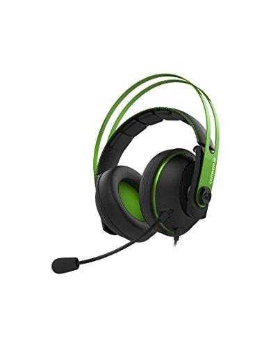 Asus Cerberus V2 gaming headset (bekabeld, PC, MAC, PS4, smartphone, afneembare microfoon) Green groen