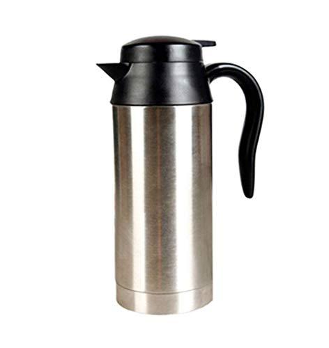 Kaisimys Reisekocher, 750 ml, 24 V, elektrischer Wasserkocher fürs Auto, Kaffeebecher mit Zigarettenanzünder-Ladegerät, elektrischer Wasserkocher für heißes Wasser, Kaffee, Tee, echte Farbe True Color