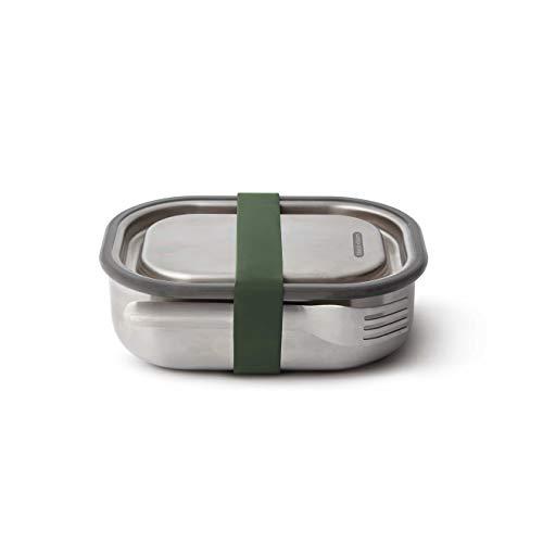 Black+Blum Edelstahl Lunchbox, olive, 1000ml