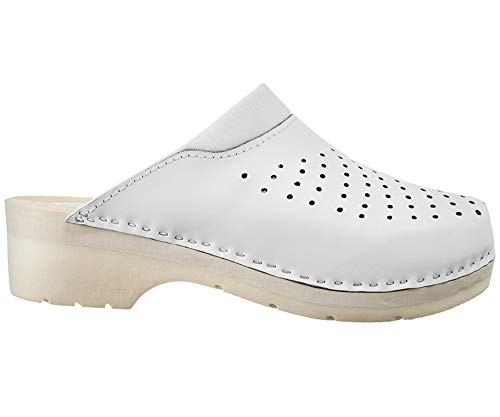 ESTRO Zuecos De Madera Mujer Calzado Sanitario De