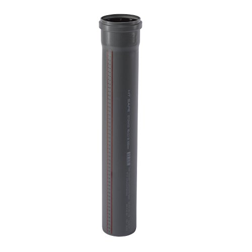 Ostendorf HTsafe HT-Rohr mit Muffe DN 90 mm 1000 mm