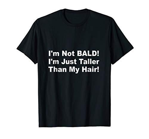 Mens Funny Bald Head / Balding / Hair Loss T-shirt