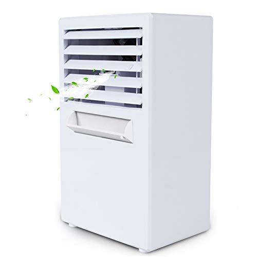 Refrigeración humidificador y purificador Portátil 3-en-1 de aire más fresco for la sala de ventilador y humidificador, el modo 3 configuración normal, natural y sueño, 3 configuraciones de velocidad