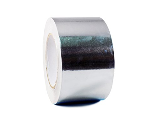 T.R.U. AF-20R Heat Shield Resistant Aluminum Foil Tape: 3 in. Wide x 50 yds. (2Mil)