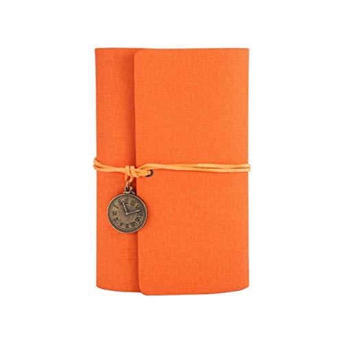 Seeyouagan Creative - Quaderno da viaggio in pelle PU, con copertina in pelle PU, per notebook A6, per ufficio di viaggio