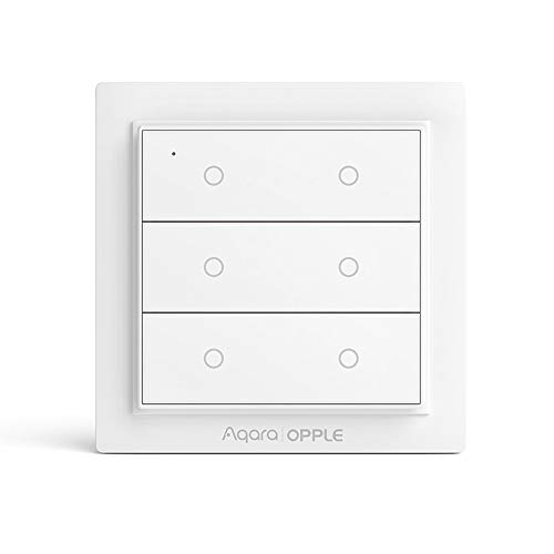 Für Mijia Aqara Opple Internationale intelligente Smart Switch WiFi Fernbedienung Wireless Funktion mit Mi Home App für Apple Homekit (für Mijia Eco-System) Six Buttons