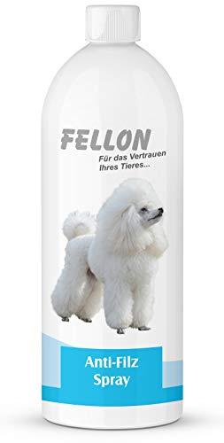 Fellon Anti Filz 1000 ml für Hunde | Entfilzungsmittel | Entfilzungsspray | Entfilzung für Hunde |...