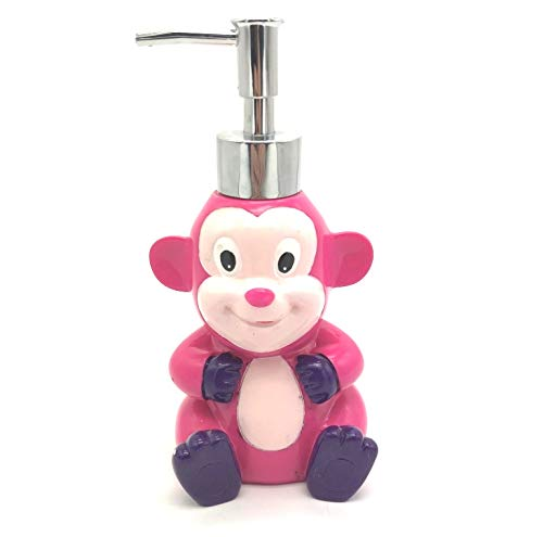 Sania India Handarbeits-Pumpe für Kinder, umweltfreundlich, Polyresin, für Badezimmer, Dusche und Küche, Kunstharz Metall, bär, S
