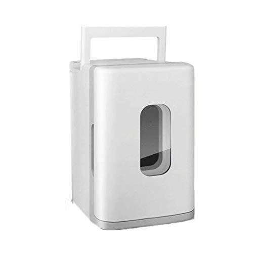 Mini Nevera Mini Refrigerador Mini refrigerador portátil y más cálido para bebidas 10l Coche Mini refrigerador Portátil Maquillaje para el cuidado de la piel para el refrigerador para el coche del hog